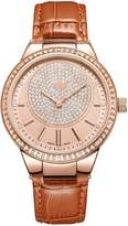 JBW Women's J6345D Camille 0.16 ctw 18k rose -plated stainless-steel Diamond Watch