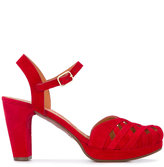 Chie Mihara mid heel sandals - women - Leather/Foam Rubber - 36