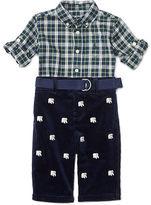 Ralph Lauren Shirt & Corduroy Pant Set