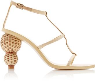 Cult Gaia Eden Woven Leather Sandals