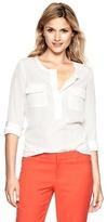 Gap Pocket popover shirt
