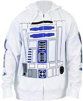 Mighty Fine Star Wars I Am R2D2 Men's Zip Up Hoodie
