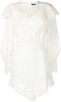 Isabel Marant Ellery lace linen dress