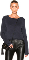 Frame Crewneck Raglan Sweater