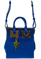 Sophie Hulme Blue Holmes Small North South Tote