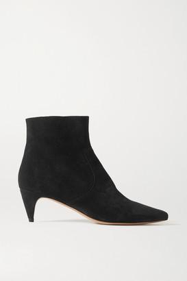Isabel Marant Derst Suede Ankle Boots - Black