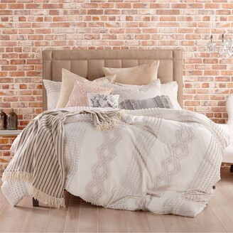 Peri Home Cut Geo Comforter & Sham Set
