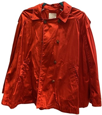 Joie Red Cotton Jacket for Women