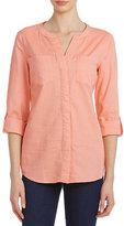 Westbound Cotton Y-Neck Shirt