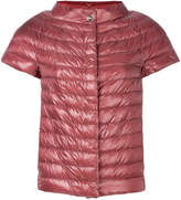 Herno padded short sleeved jacket