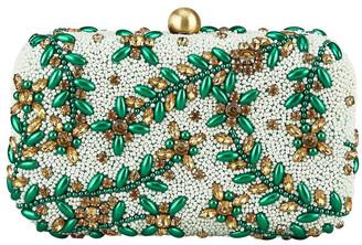 FROM ST XAVIER FSX201W102 Diamante Hardcase Clutch Bag