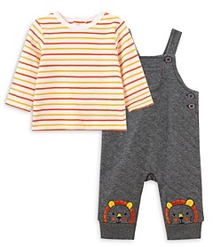 Little Me Boys' Lion Overall and Shirt Set - Baby