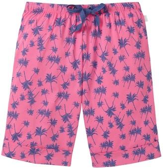 Schiesser Girl's Jersey Bermuda Pyjama Bottoms Red - Rot (pink 504) 14 Years (Manufacturer Size: 176)