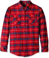 Neff Men's Elliot Long Sleeve Flannel Button up