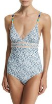 Stella McCartney Iconic Printed One-Piece Swimsuit