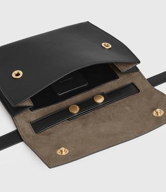 AllSaints Corbet Leather Crossbody Fanny Pack
