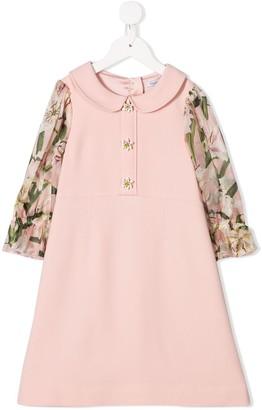 Dolce & Gabbana Peter Pan Collar Dress