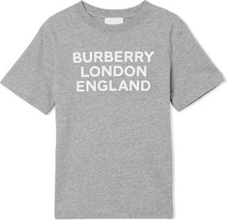 BURBERRY KIDS logo-print T-shirt