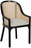 Noir Gaston Armchair - Black