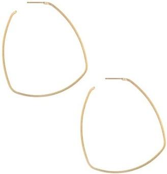 Dean Davidson 22K Goldplated Square Hoop Earrings