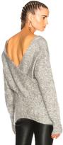 Marissa Webb Eliza Sweater in Gray.