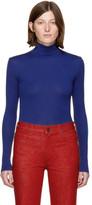 Calvin Klein Blue 205 Jersey Turtleneck