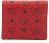 MCM Color Visetos Two-Fold Flap Wallet