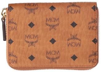 MCM Visetos Zip-Around Wallet