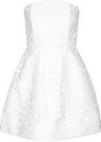 Alice + Olivia Salma broderie anglaise cotton mini dress