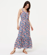 LOFT Petite Wildflower Maxi Dress