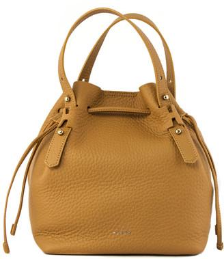 Hogan Bucket Bag In Brown Leather