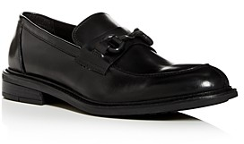 Kenneth Cole Men's Class 2.0 Leather Apron-Toe Loafers