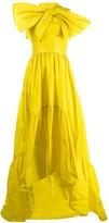 Talbot Runhof Toucan evening dress