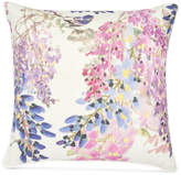 "Sanderson Wisteria Falls 18"" Square Decorative Pillow Bedding"