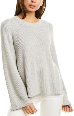 Lafayette 148 New York Open Sided Silk-Blend Pullover
