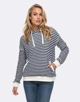 Roxy Womens Shoal Stripe Hoodie