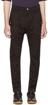 Helmut Lang Black Utility Trousers
