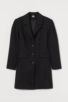 H&M Modal Jacket Dress - Black