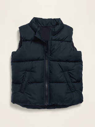 Old Navy Frost-Free Quilted Puffer Vest for Toddler Boys