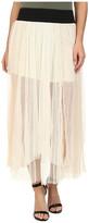 Free People Dotted Mesh Sugar Plum Tutu Skirt