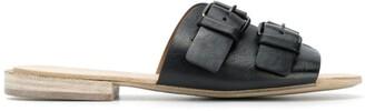 Marsèll Double Buckle Flat Sandals