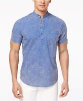 INC International Concepts I.n.c. Men's Denim Popover Shirt, Created for Macy's