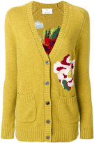 Allude floral cardigan