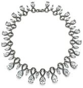 Noir Cubic Zirconia & Crystal Necklace