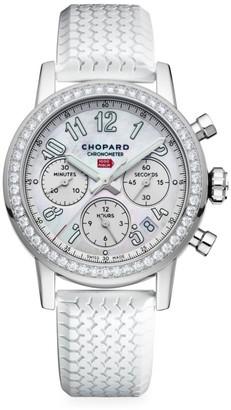 Chopard Mille Miglia Stainless Steel & Diamond Chronograph Watch