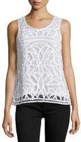 Joie Bindi Crocheted Sleeveless Top