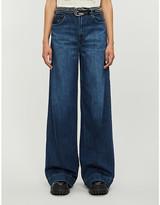 J Brand Thelma flared high-rise stretch-denim jeans