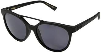 Von Zipper VonZipper Hitsville Polar (Black Satin/Wild Vintage Grey Polar) Athletic Performance Sport Sunglasses