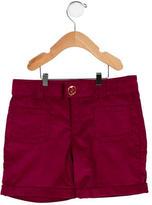 Gucci Girls' Logo-Embellished Corduroy Shorts