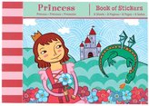 Mudpuppy Princess Book of Stickers